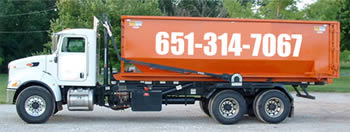 truck for dumpster rentals in St. Paul , Minnesota